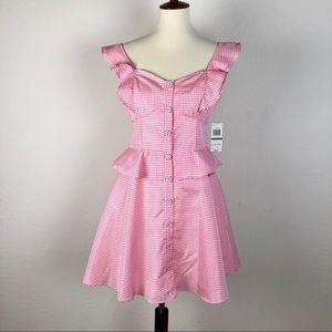 Gianni Bini Peplum Dress